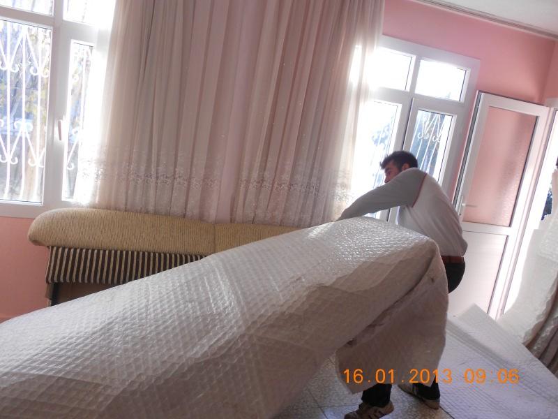 Adana evden eve paketleme işlemi
