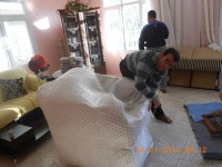 Adana evden eve paketlenmiş koltuğun taşınması