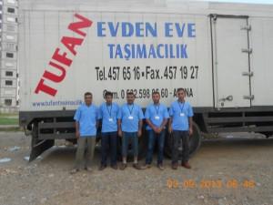 ADANA Evden eve taşımacılık Personelimiz
