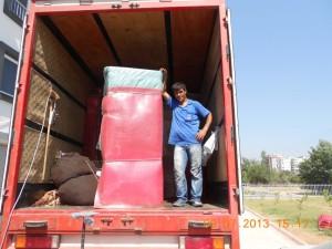 Adana evden eve araç yerleştirmesi