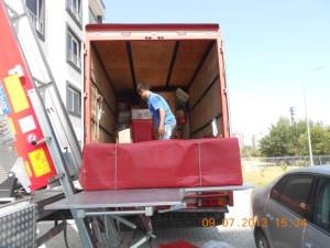 Adana evden eve araç içi yerleştirmesi tufan nakliyat