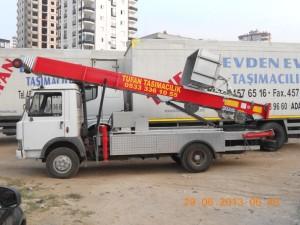 Adana evden eve taşımacılık araçlarımız