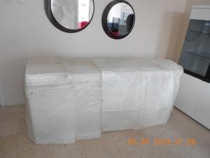 Evden eve taşımacılık paketleme yapılırken