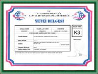 Adana evden eve taşımacılık yetki belgesi